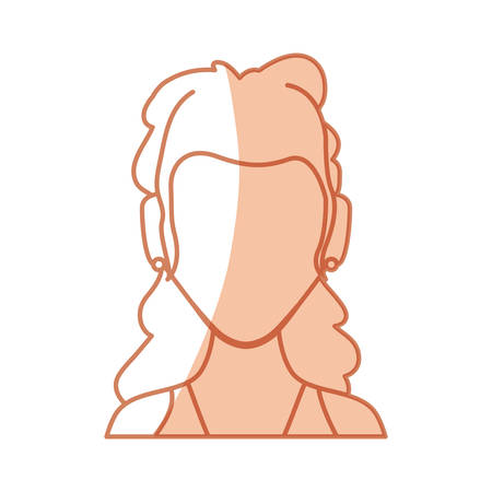 funny pictures: Anonymous faceless, woman icon vector illustration graphic design