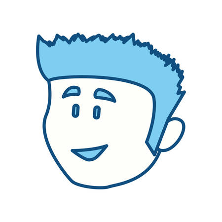 funny pictures: Guy face cartoon icon vector illustration graphic design icon vector illustration graphic design