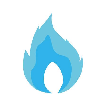 Fire burn flame icon vector illustration graphic design.