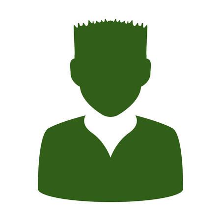 socializando: avatar men anonymous vector illustration graphic design icon