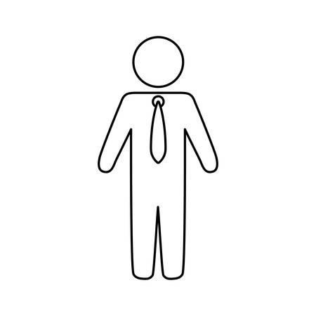 Man pictograms symbol icon vector illustration graphic design