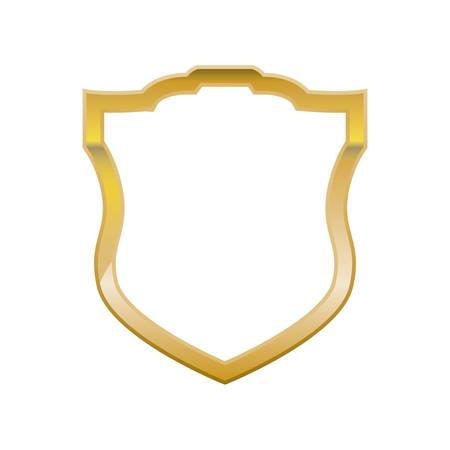 Shield security symbol icon vector illustration graphic design