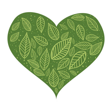 passion  ecology: Passion for ecology icon vector illustration graphic design Illustration