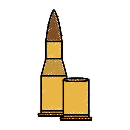 bullet icon over white background. vector illustration