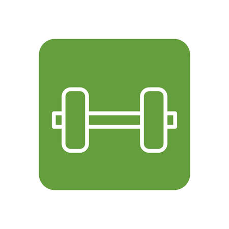 weight gym sport icon vector illustration graphic design