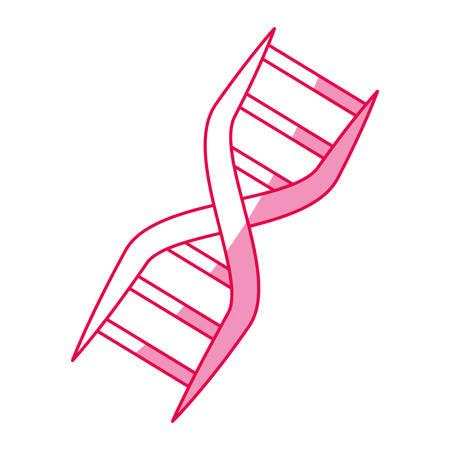 Dna código de código genético ilustración vectorial diseño gráfico Ilustración de vector