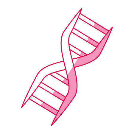 dna genetic code icon vector illustration graphic design Stock Illustratie