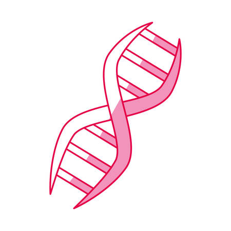 dna genetic code icon vector illustration graphic design Illustration