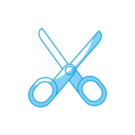 scissors icon over white background vector illustration Illustration