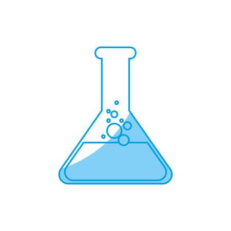 poison bottle: chemical flask icon over white background vector illustration