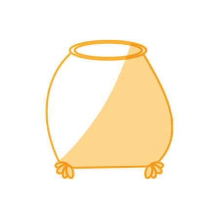 Sack bag pouch vector illustration graphic design icon.