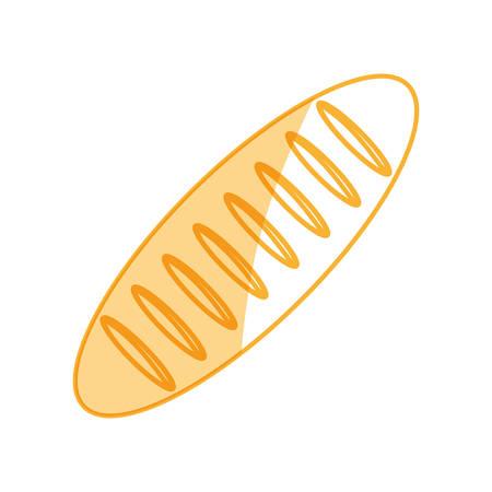 Dinner roll loaf vector illustration graphic design icon.