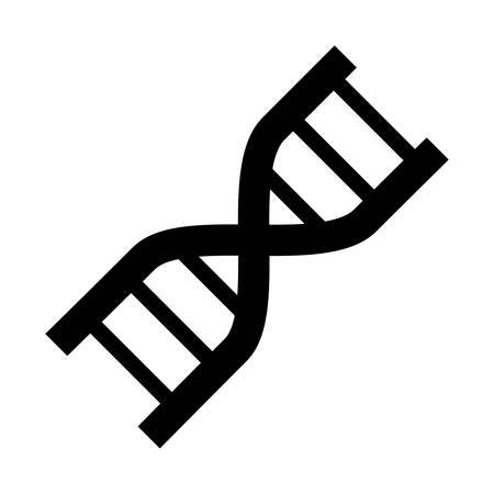 ADN icono de genética humana ilustración vectorial diseño gráfico