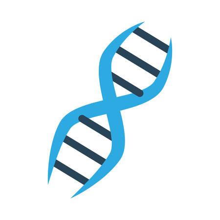 ADN icono de genética humana ilustración vectorial diseño gráfico Ilustración de vector