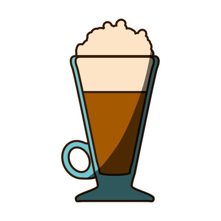 Delicious cold coffee icon vector illustration graphic design Banco de Imagens - 79943576
