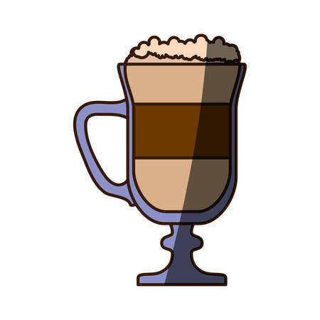 Delicious cold coffee icon vector illustration graphic design Banco de Imagens - 79943577