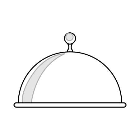 Food Warmer Stock icon vector illustration graphic design