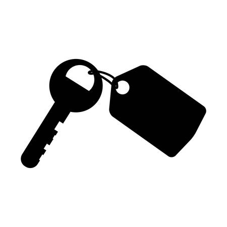 Hotel room keys icon vector illustration graphic design
