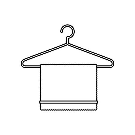 bathe: bath towel symbol icon vector illustration graphic design