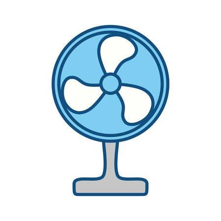 cold room: Floor Fan symbol icon vector illustration graphic design