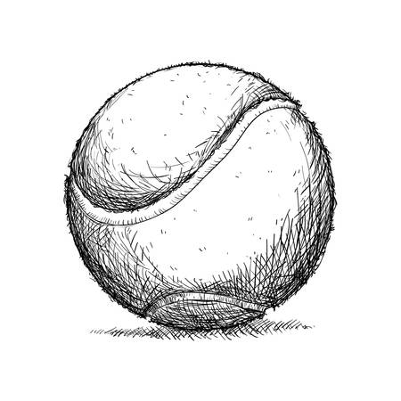 tennis ball isolated icon vector illustration graphic design