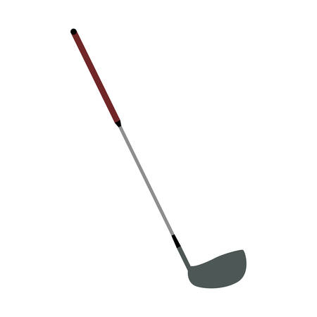 pastime: Golf club stick icon vector illustration graphic design