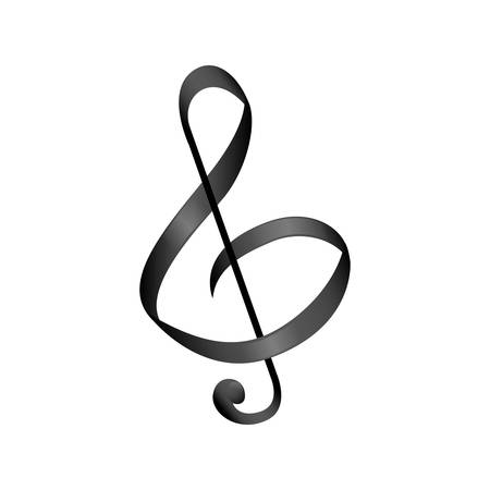 Music note symbol icon vector illustration graphic design