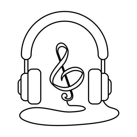 quaver: Music note symbol icon vector illustration graphic design