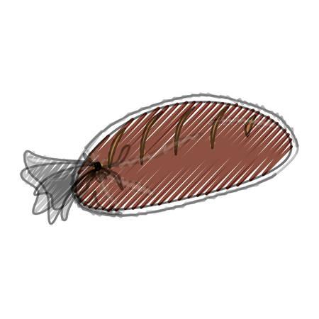 prepare: Fresh and delicious bread icon vector ilustration graphic Illustration