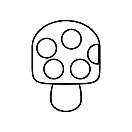 creamy: ice cream icon over white background vector illustration