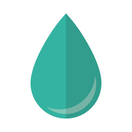 drops of water: water drop icon over white background vector illustration Illustration