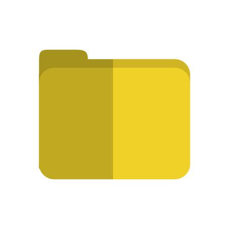 indication: document folder icon over white background colorful design vector illustration