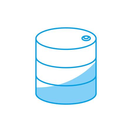symbolics: data disk storage icon over white background vector illustration