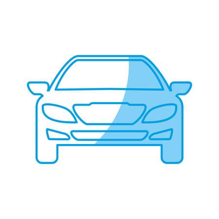 car tire: car icon over white background vector illustration Illustration