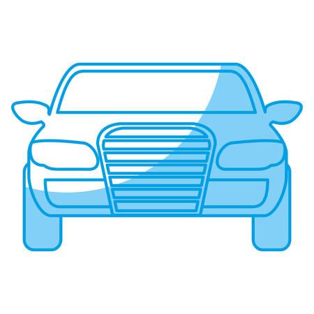 car tire: sport car icon over white background vector illustration Illustration
