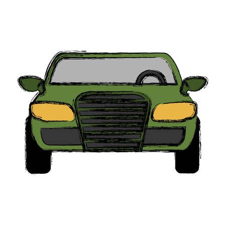 car tire: car icon over white background colorful design  vector illustration