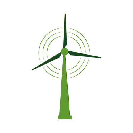 756 Windturbine Stock Vector Illustration And Royalty Free ...
