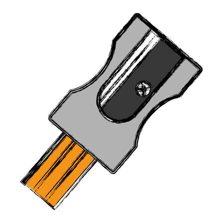 白い背景のベクトル図を削りアイコン 写真素材 - 80449747