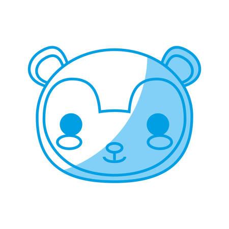 squirrel animal icon over white background vector illustration Illustration