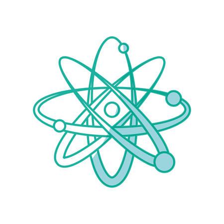 atom science element icon vector illustration graphic