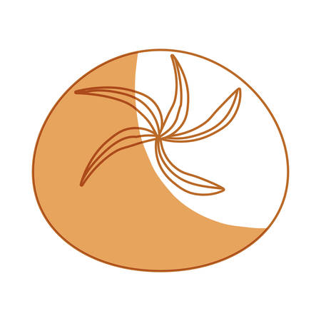 shadowed: Delicious and fresh bread icon vector illustration graphic design