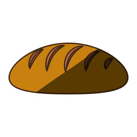 Delicious and fresh bread icon vector illustration graphic design