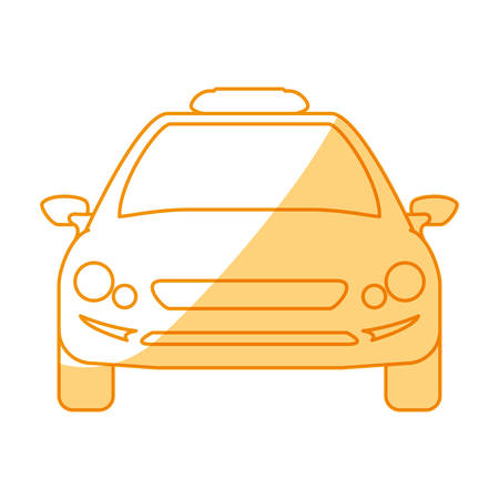 Taxi cab service icon vector illustration graphic design