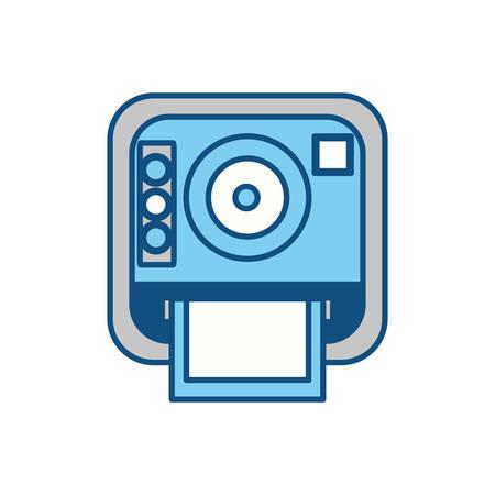 Icono de la cámara fotográfica de la vendimia ilustración vectorial diseño gráfico Foto de archivo - 80686640