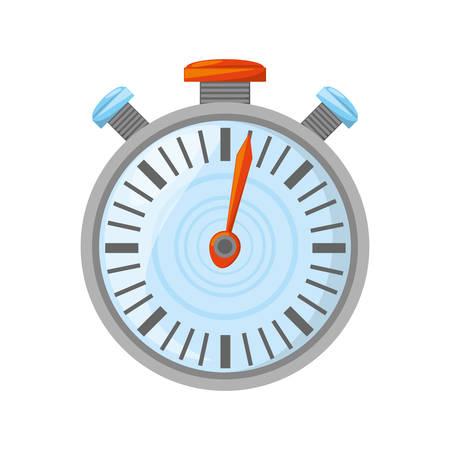 interval: Isolated sport chronometer icon vector illustration graphic design Illustration