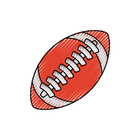 Isolated american football icon vector illustration graphic design