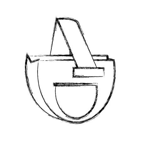 consumer: isolated ecologic bag icon vector illustration graphic design