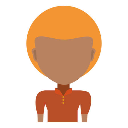 funny pictures: Man faceless head icon vector illustration graphic design