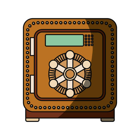 isolated security box icon vector illustration graphic design Illustration