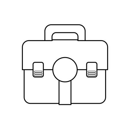 front view: isolated medicine chest icon vector illustration graphic design Illustration